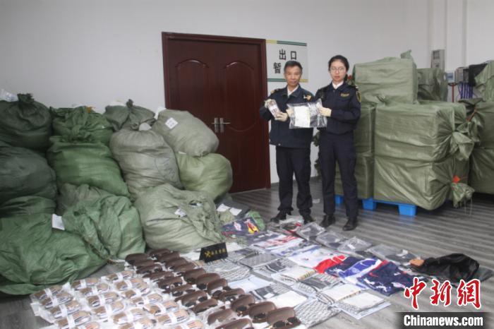 南宁邮局海关道连续查获涉侵权国际品牌商标权邮包