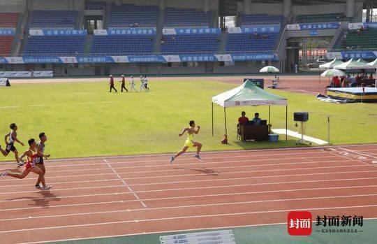 10秒37夺冠创纪录!潜力接班苏炳添、谢震业!