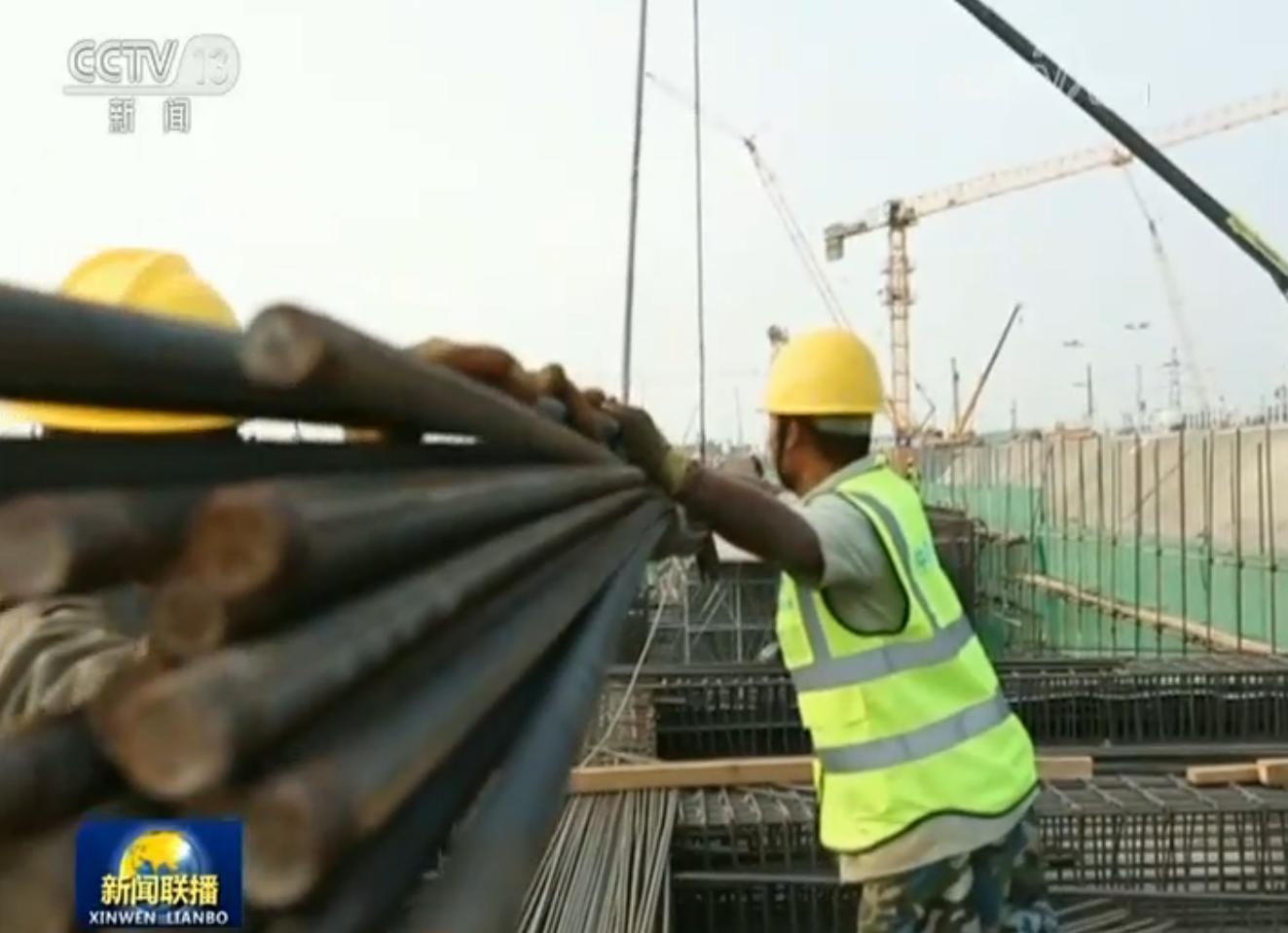 雄安新区转入大规模开工建设阶段 重点项目工程同时施工