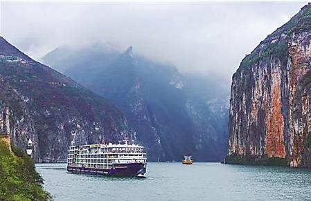 三峡游轮包船游异常火爆 游客满意度高达95%以上